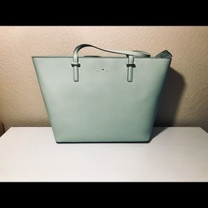 Kate Spade Large Leather Bucket Tote
